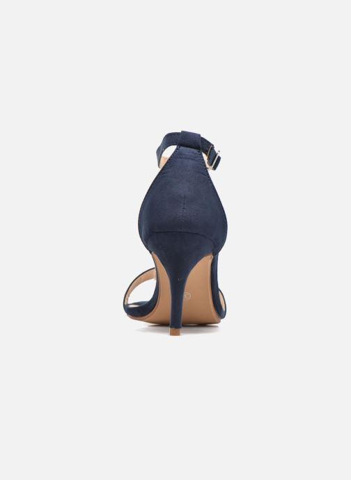 Sandalias I Love Shoes MCGARCIA Azul vista lateral derecha