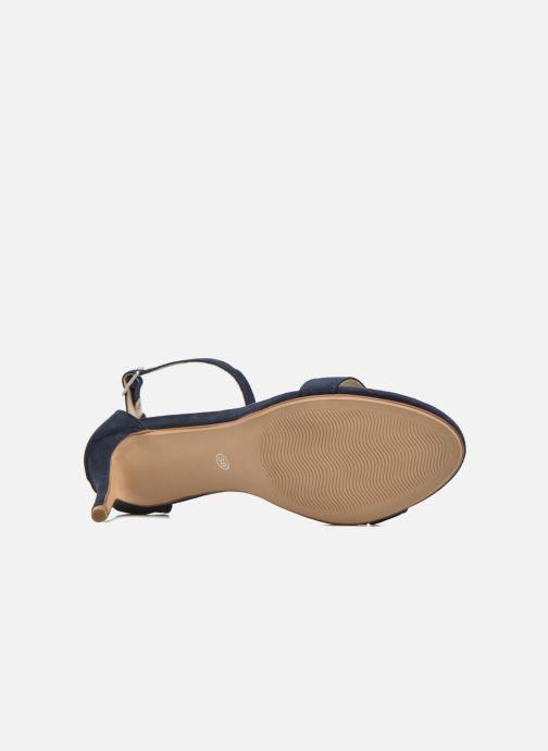 Sandalias I Love Shoes MCGARCIA Azul vista de arriba