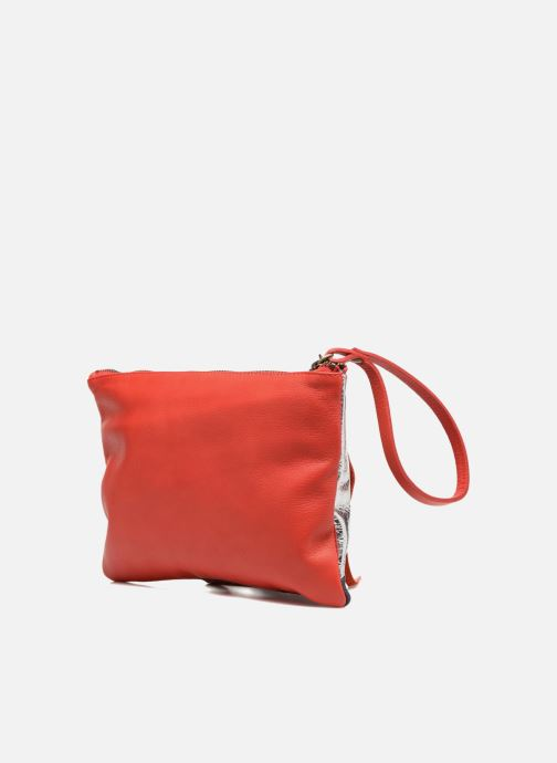 Clutch bags Mohekann Anatolie Red view from the right