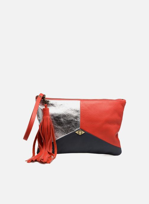 Clutch bags Mohekann Anatolie Red detailed view/ Pair view