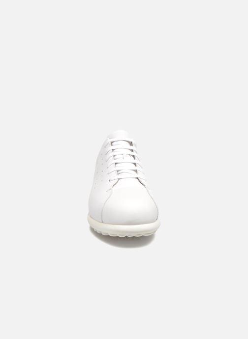Sneaker Camper Nouvelles Pelotas weiß schuhe getragen