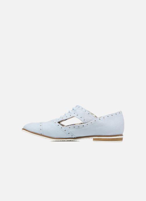 Scarpe con lacci I Love Shoes BLEST Azzurro immagine frontale