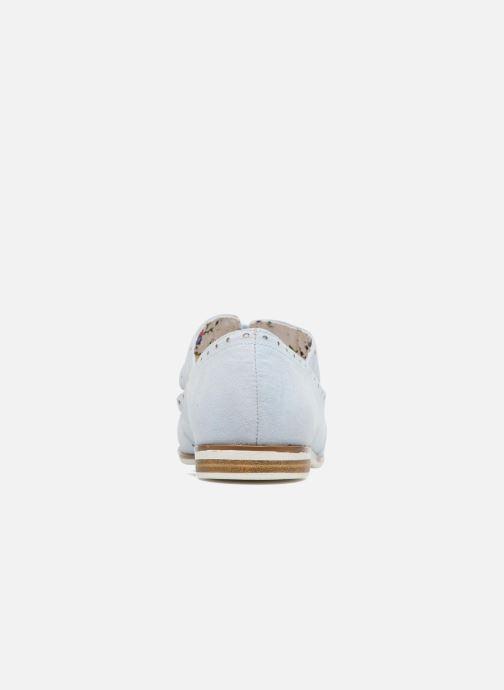 Scarpe con lacci I Love Shoes BLEST Azzurro immagine destra