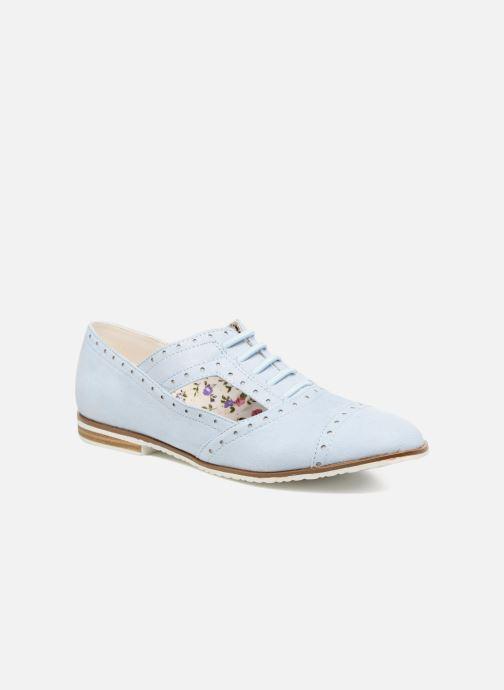 Chaussures à lacets I Love Shoes BLEST Bleu vue détail/paire