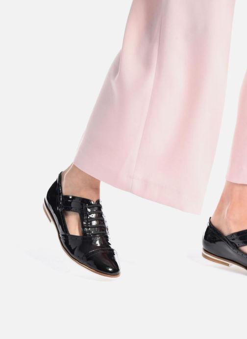 Chaussures à lacets I Love Shoes BLEST Beige vue bas / vue portée sac