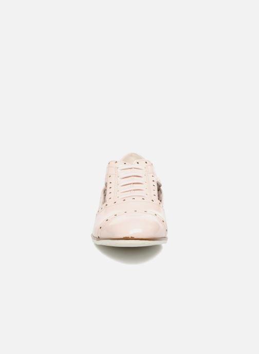 Chaussures à lacets I Love Shoes BLEST Beige vue portées chaussures