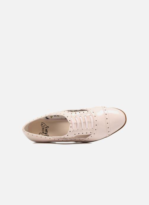 Chaussures à lacets I Love Shoes BLEST Beige vue gauche