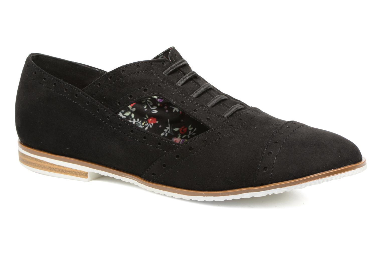 Zapatos con cordones I Love Shoes BLEST Negro vista de detalle / par