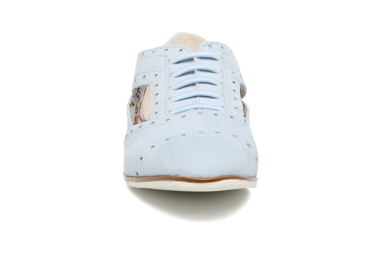 Zapatos con cordones I Love Shoes BLEST Azul vista del modelo