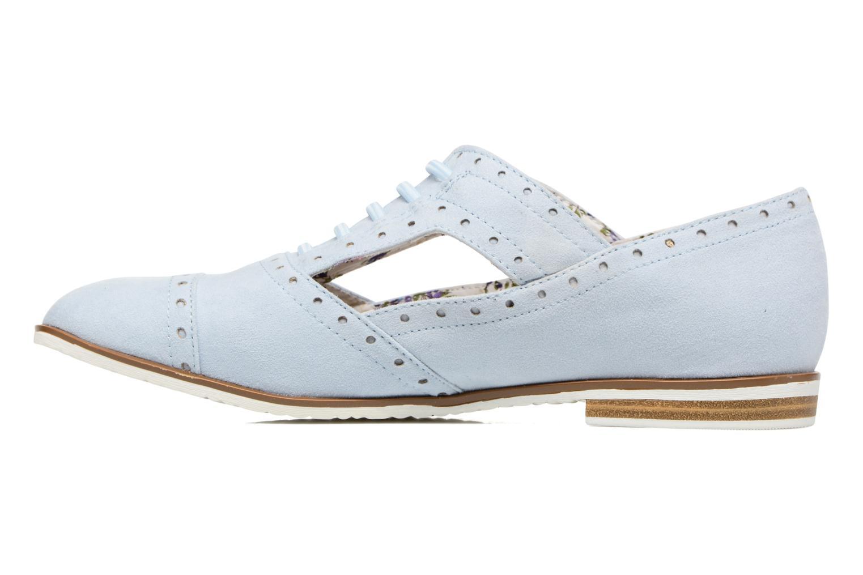 Zapatos con cordones I Love Shoes BLEST Azul vista de frente