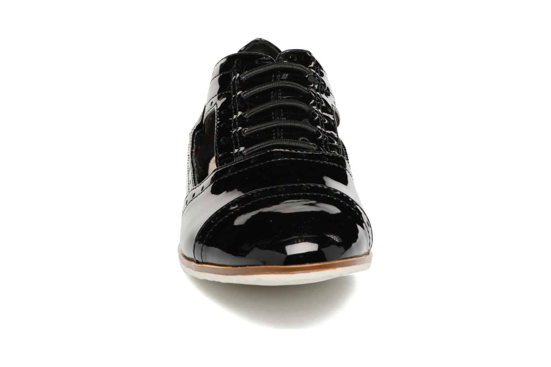 Zapatos con cordones I Love Shoes BLEST Negro vista del modelo