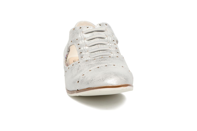 Chaussures à lacets I Love Shoes BLEST Argent vue portées chaussures