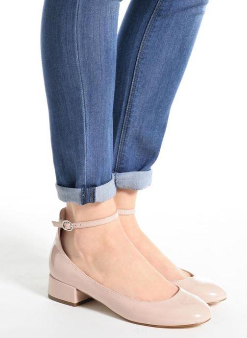 Ballerinas I Love Shoes BLIJ beige ansicht von unten / tasche getragen