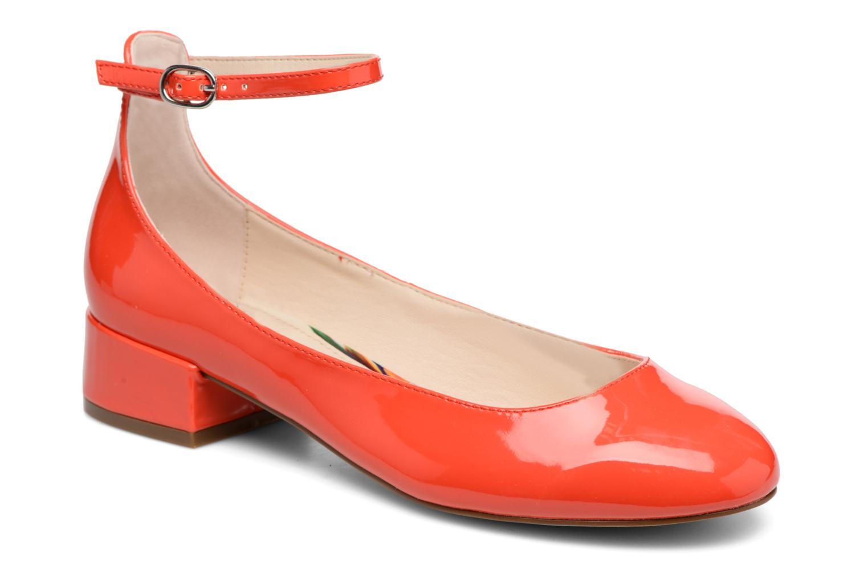 I Love Shoes BLIJ (Rouge) - Ballerines en Más cómodo Mode pas cher et belle