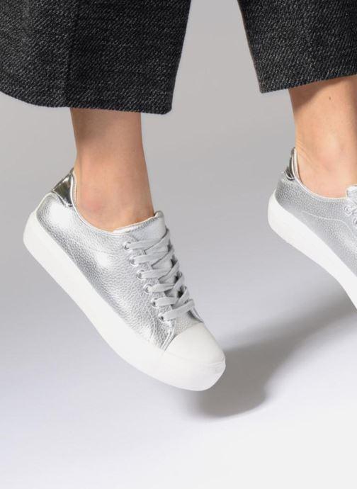 Deportivas I Love Shoes BLIDE Plateado vista de abajo