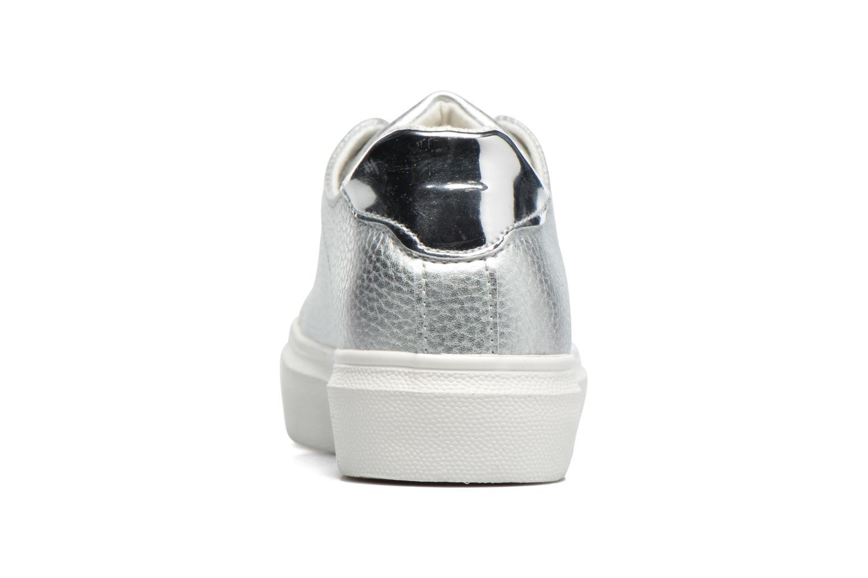 Baskets I Love Shoes BLIDE Argent vue droite