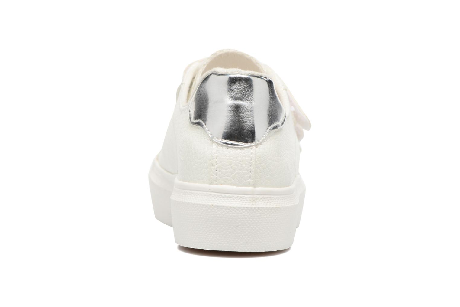 Deportivas I Love Shoes BLOIVE Blanco vista lateral derecha