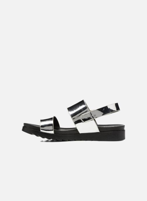 Sandales et nu-pieds I Love Shoes BLEEVA Argent vue face