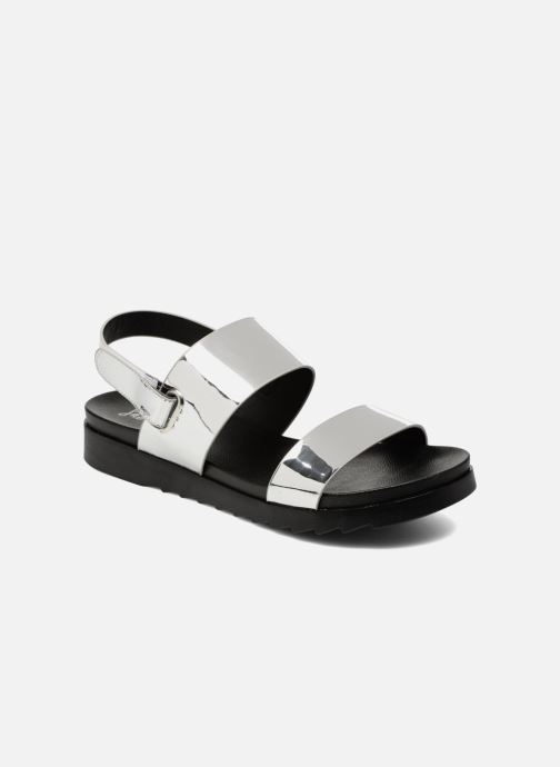 Sandales et nu-pieds I Love Shoes BLEEVA Argent vue détail/paire