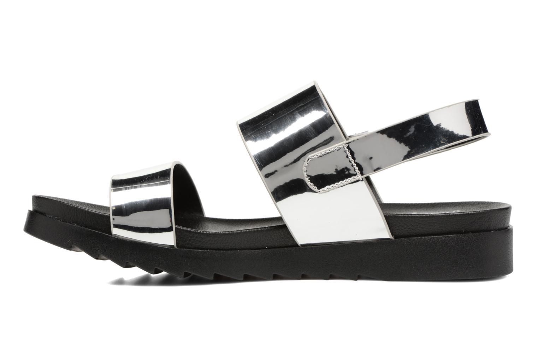 Sandalias I Love Shoes BLEEVA Plateado vista de frente