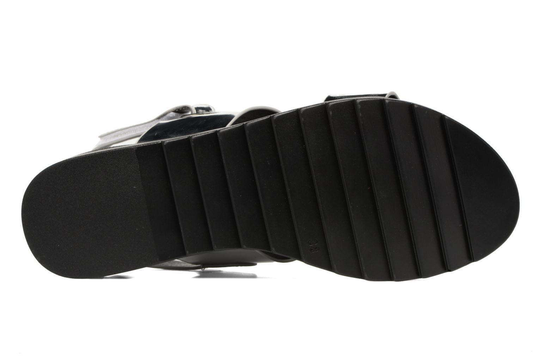 Sandalias I Love Shoes BLEEVA Plateado vista de arriba