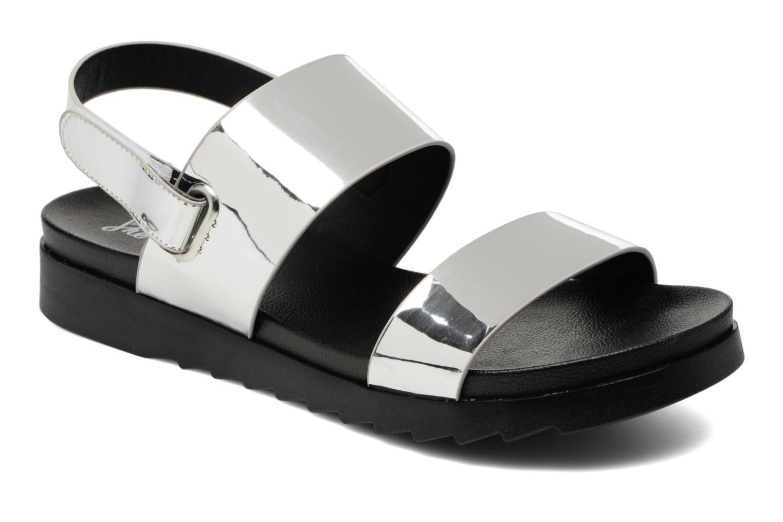 Sandalias I Love Shoes BLEEVA Plateado vista de detalle / par