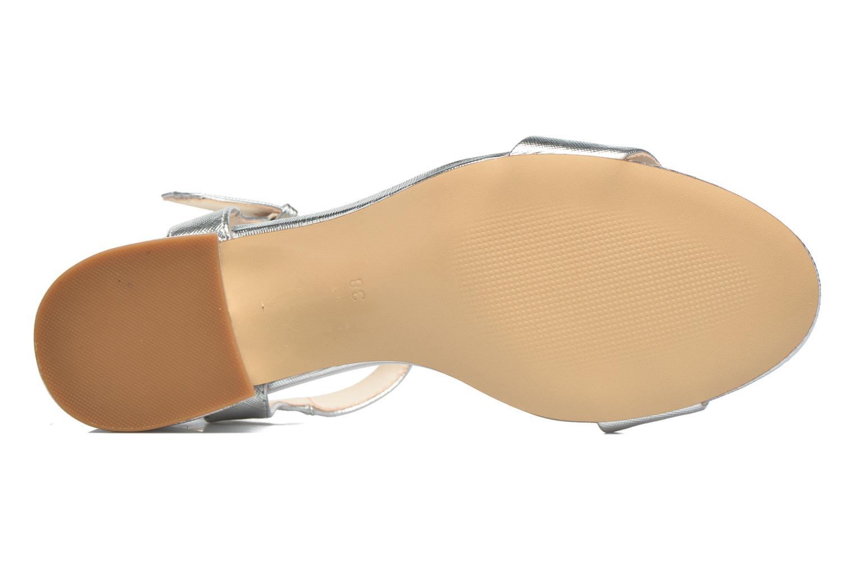 Sandalen I Love Shoes BLEUR silber ansicht von oben