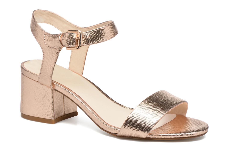Sandaler I Love Shoes BLEUR Guld og bronze detaljeret billede af skoene