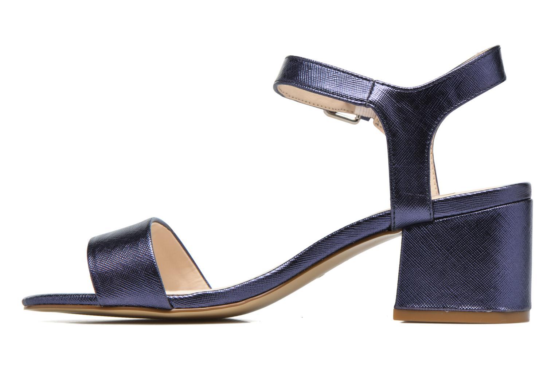 Sandals I Love Shoes BLEUR Blue front view