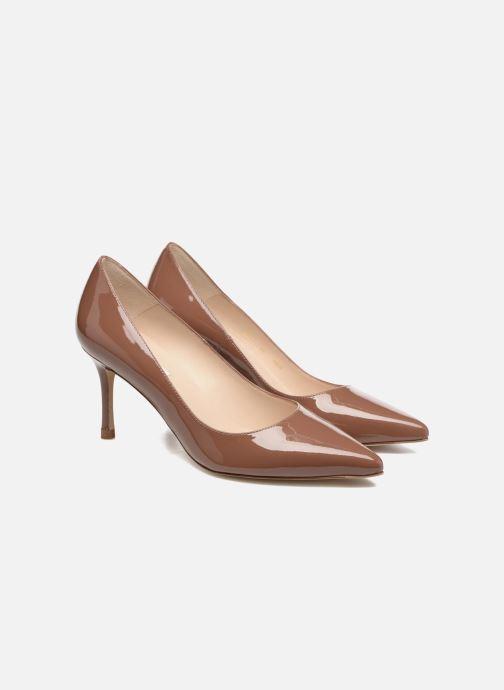Escarpins L.K. Bennett Bianca Marron vue portées chaussures