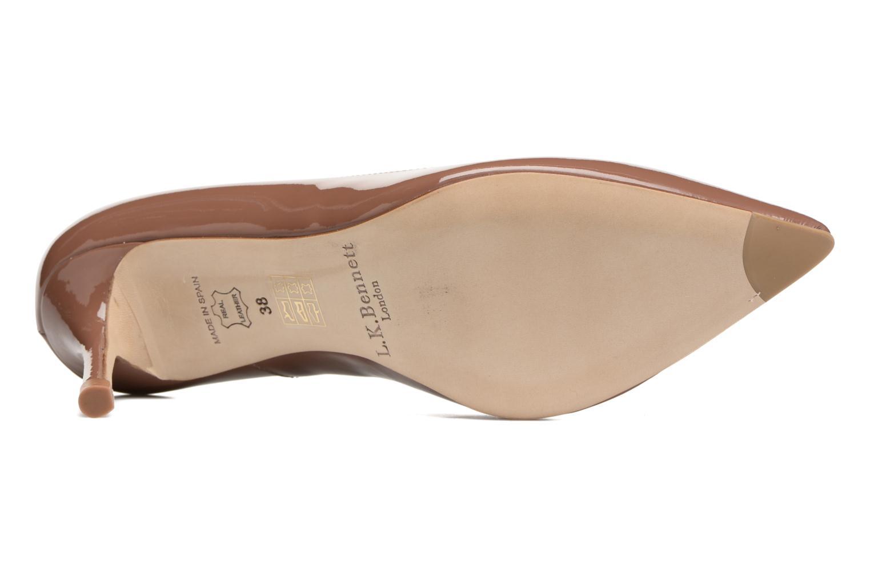 High heels L.K. Bennett Bianca Brown 3/4 view
