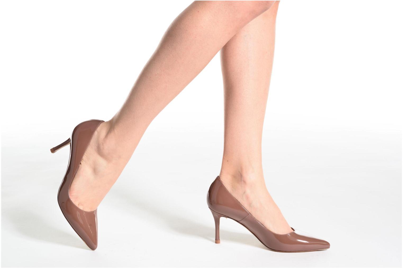 High heels L.K. Bennett Bianca Brown view from underneath / model view