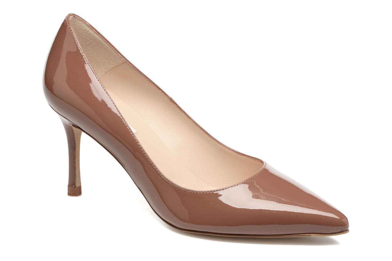 High heels L.K. Bennett Bianca Brown detailed view/ Pair view