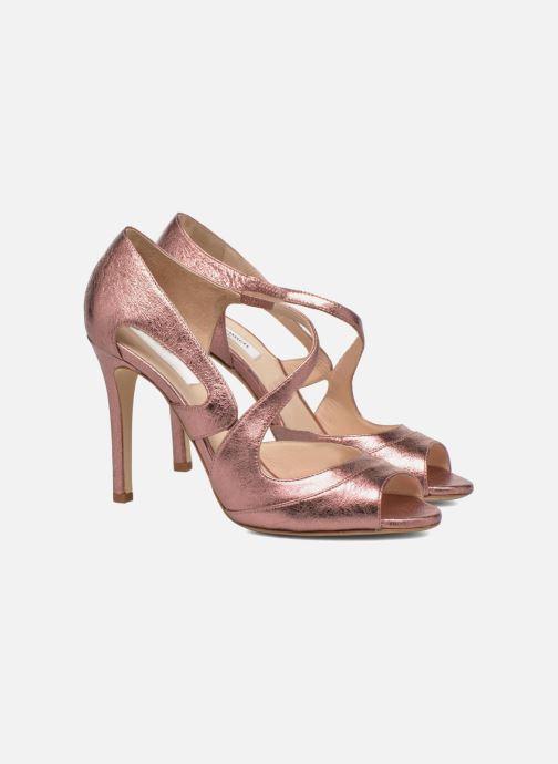 Sandali e scarpe aperte L.K. Bennett Valentina Oro e bronzo immagine 3/4