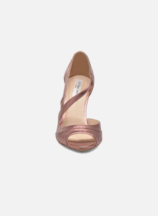 Sandales et nu-pieds L.K. Bennett Valentina Or et bronze vue portées chaussures