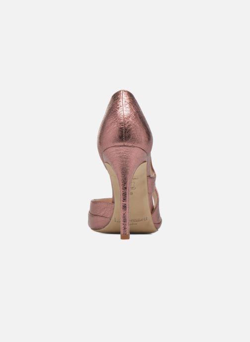 Sandales et nu-pieds L.K. Bennett Valentina Or et bronze vue droite