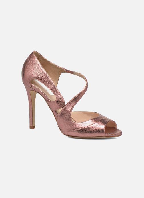 Sandales et nu-pieds L.K. Bennett Valentina Or et bronze vue détail/paire