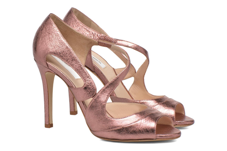 Sandales et nu-pieds L.K. Bennett Valentina Or et bronze vue 3/4