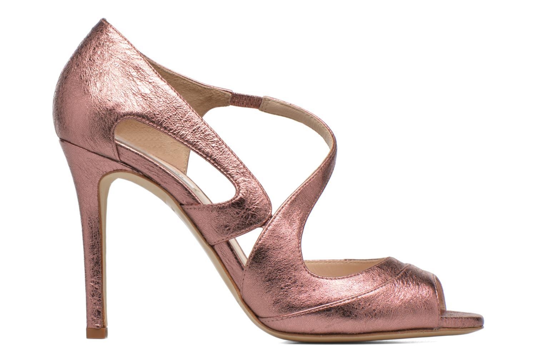 Sandales et nu-pieds L.K. Bennett Valentina Or et bronze vue derrière