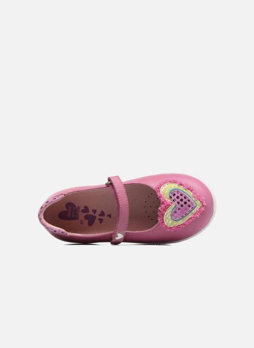 Ballet pumps Agatha Ruiz de la Prada Cazoleta 3 Pink view from the left
