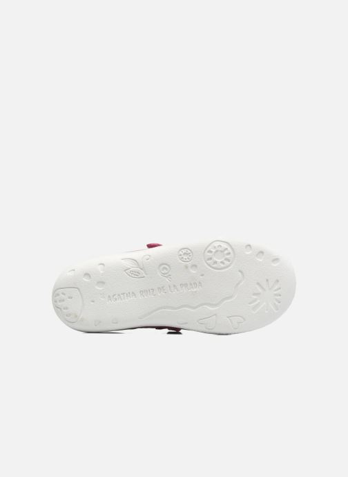 Ballet pumps Agatha Ruiz de la Prada Cazoleta 3 Pink view from above