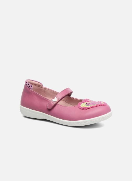 Ballet pumps Agatha Ruiz de la Prada Cazoleta 3 Pink detailed view/ Pair view
