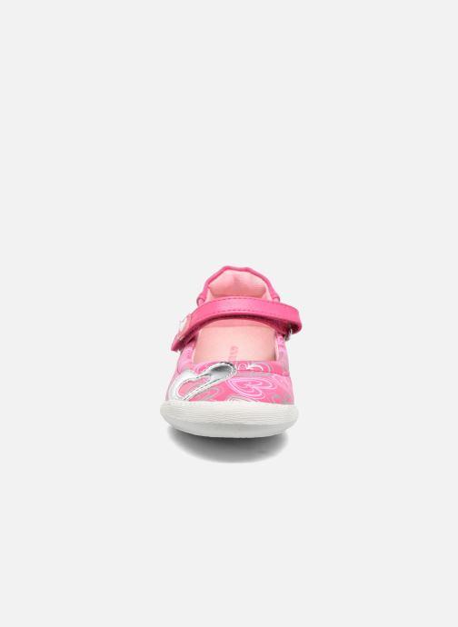 Ballerines Agatha Ruiz de la Prada Clever 2 Rose vue portées chaussures