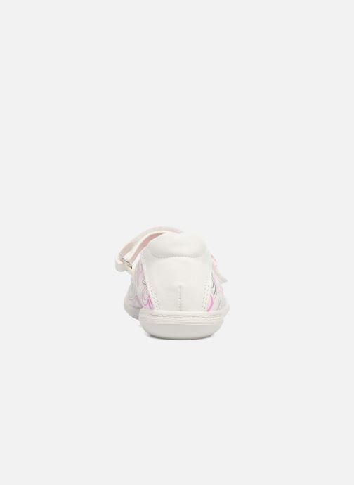 Ballerines Agatha Ruiz de la Prada Clever 2 Blanc vue droite