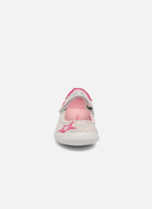 Ballerines Agatha Ruiz de la Prada Clever 2 Argent vue portées chaussures