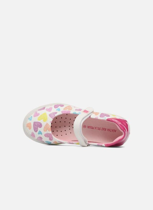 Ballet pumps Agatha Ruiz de la Prada Clever 2 Multicolor view from the left