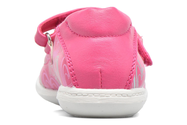 Ballerinas Agatha Ruiz de la Prada Clever 2 rosa ansicht von rechts