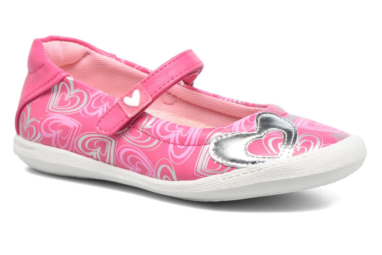 Ballerines Agatha Ruiz de la Prada Clever 2 Rose vue détail/paire