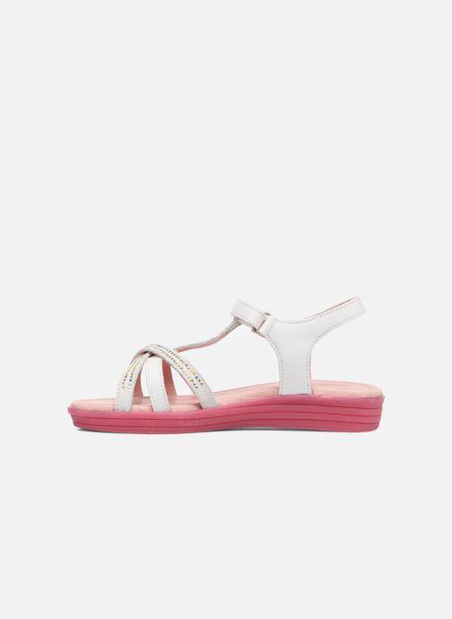 Sandales et nu-pieds Agatha Ruiz de la Prada Diva 2 Blanc vue face