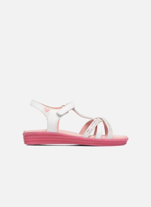 Sandales et nu-pieds Agatha Ruiz de la Prada Diva 2 Blanc vue derrière